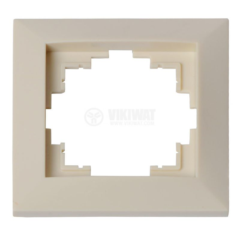 Electrical Switch Frame, LM60001, PVC, ivory color