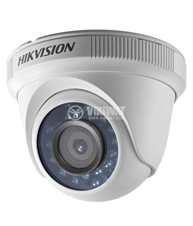 HD-TVI vari-focal IR turret camera, IP66, 1MP, 1280x720px, HIKVISION