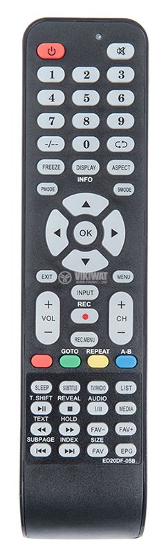 Remote control ED20DF-05B for CROWN TVs - 1