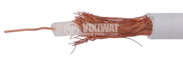 Коаксиален кабел CC1022 медно жило и оплетка