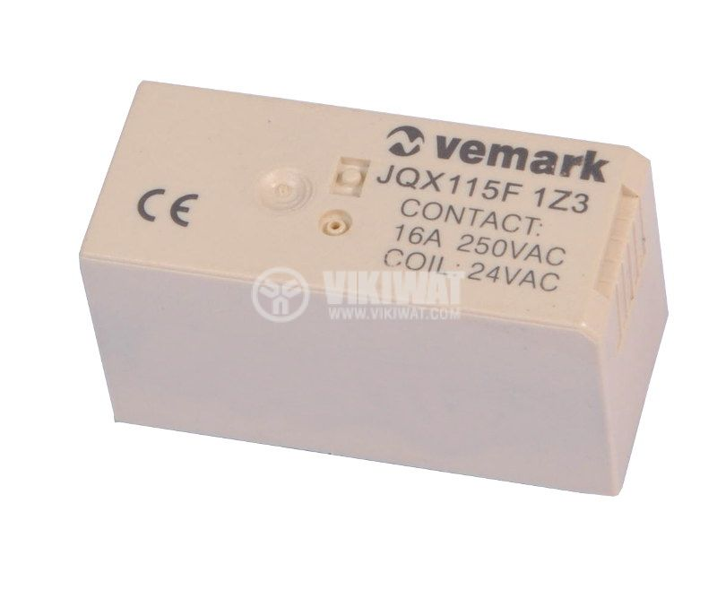 Electromagnetic relay 24VAC NO-NC - 1