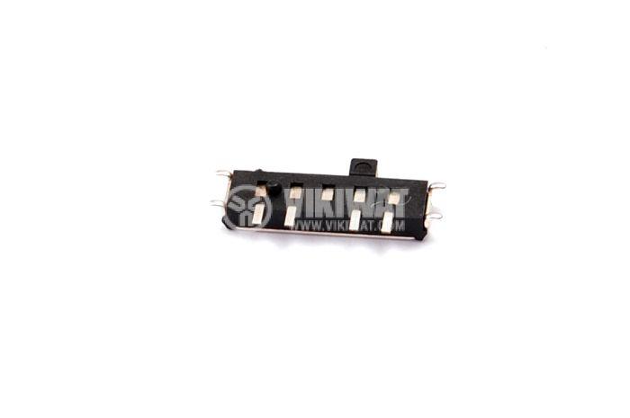 Микропревключвател, изостат, трипозиционен, 0.5 A, 50 V, SMD