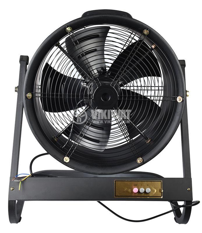 Вентилатор, канален, аксиален, Ф500mm, 8850 M3/H, 420W, VP-4E-500, 220VAC - 1