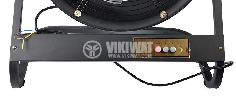 Вентилатор, канален, аксиален, Ф500mm, 8850 M3/H, 420W, VP-4E-500, 220VAC - 2