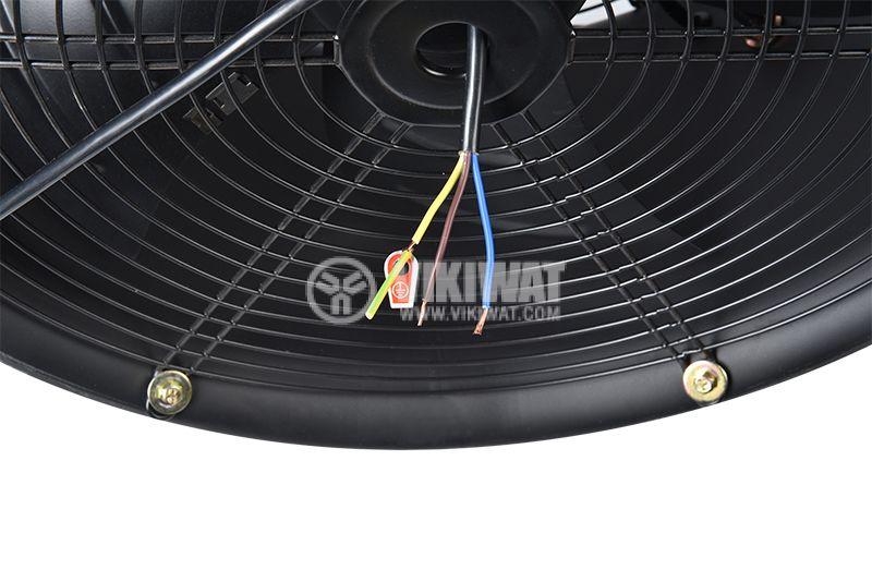 Вентилатор, канален, аксиален, Ф500mm, 8850 M3/H, 420W, VP-4E-500, 220VAC - 5