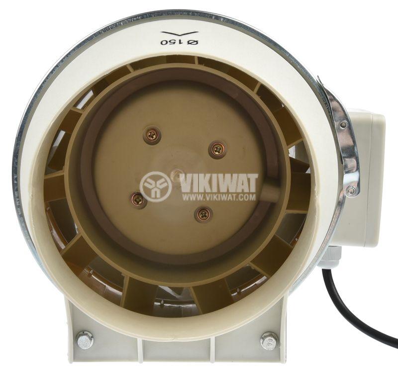 Fan, channel, VF-150, 220VAC, 60W, 530m3 / h, ф150mm - 7