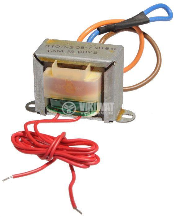 Трансформатор 220 / 9 VAC, 5.4 VA