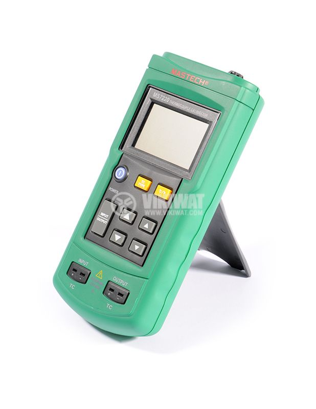 Thermocouple Calibrator MS7220, TC type J, K, T, E, R, S, B, N, -200˚C to +1800˚C - 4