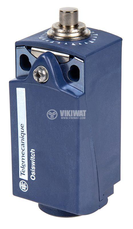 Краен изключвател, XCKP2510P16, NO+NC, 240VAC / 250VDC, 10A, щифт - 1