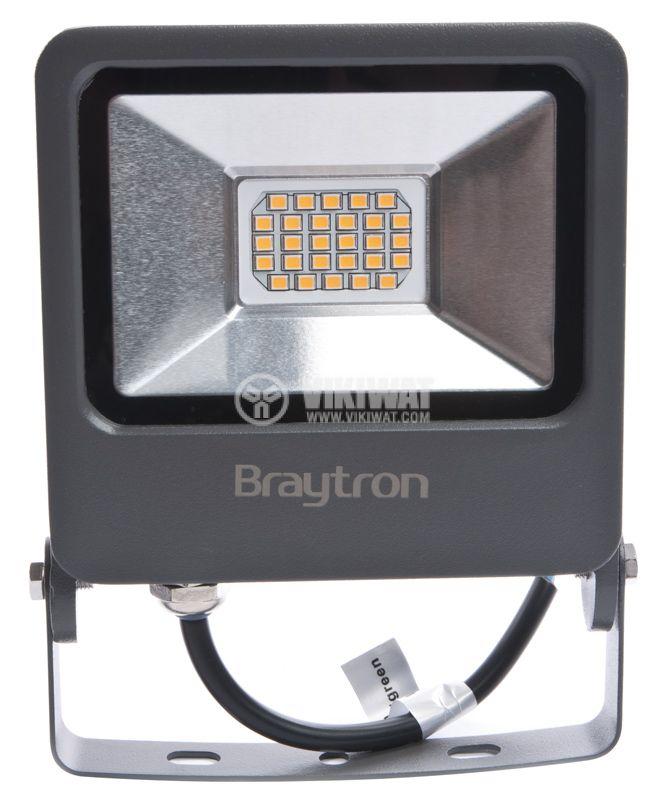 LED прожектор IP65, 3000K, топлобял - 1