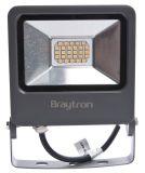 LED прожектор 20W, 220VAC, 1600lm, 3000K, топло бял, IP65, влагозащитен, SLIM, BT61-02002