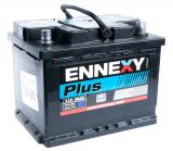 Car battery, 66Ah, starter, 12VDC, ENNEXY Plus