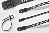 Кабелна превръзка SOFTFIX L-TPU-BK, 340mm, черна, еластична, за многократна употреба - 4