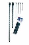 Кабелна превръзка SOFTFIX L-TPU-BK, 340mm, черна, еластична, за многократна употреба - 5
