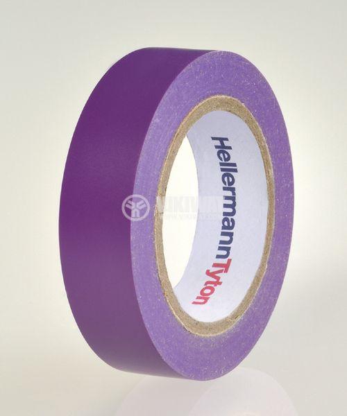PVC insulating tape, purple