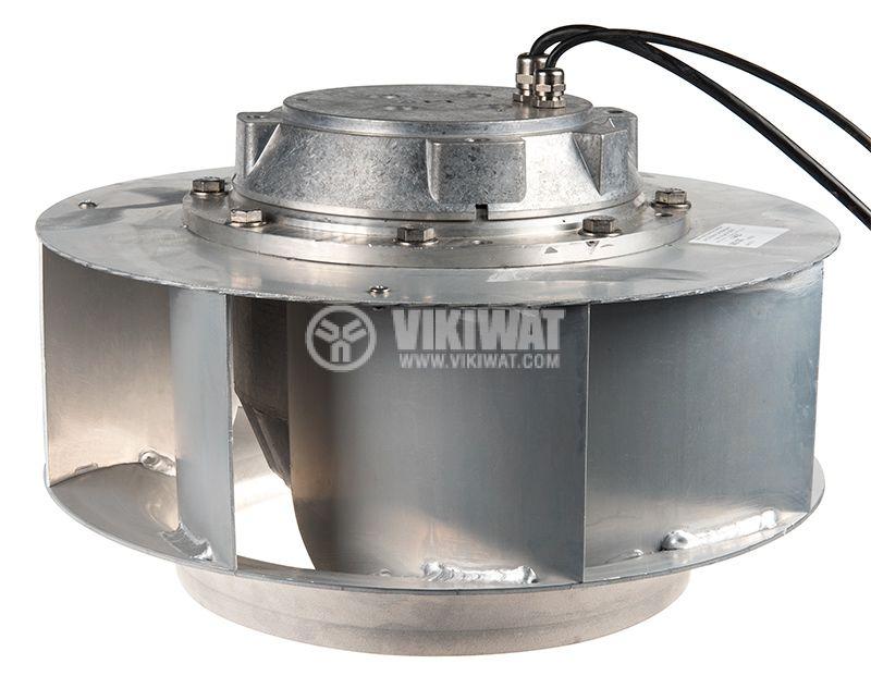 Вентилатор, трифазен, центробежен, DKHR 355-2SW, 400VAC, 2200W, 3.8A, ф355 - 2
