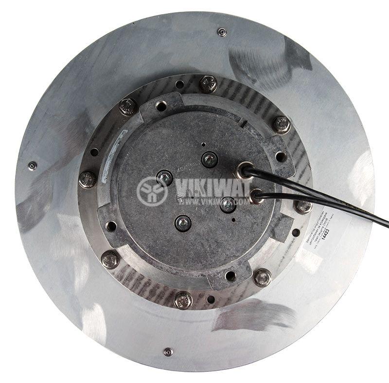 Вентилатор, трифазен, центробежен, DKHR 355-2SW, 400VAC, 2200W, 3.8A, ф355 - 3