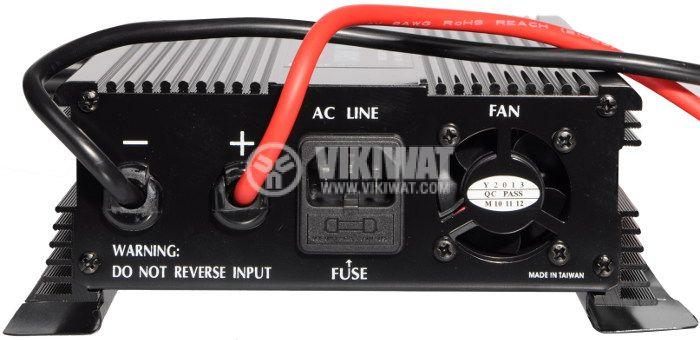 Инвертор със зарядно, UPS устройство, A601-1700-12, 12VDC - 220VAC, 1700W, модифицирана синусоида - 3