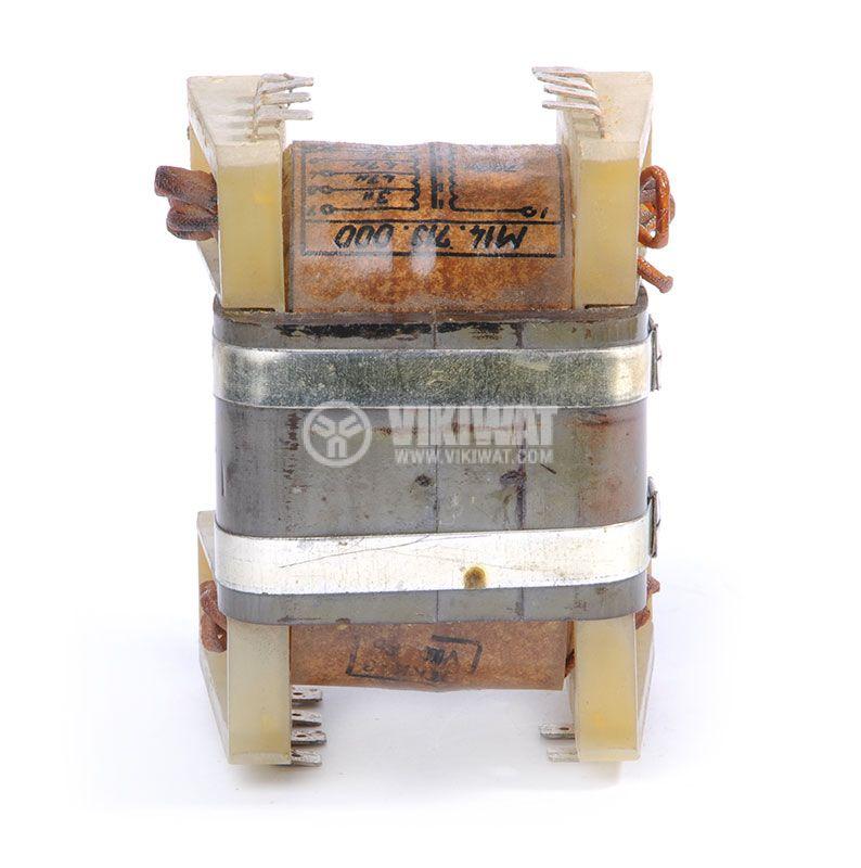 Autotransformer, shielded, 220VAC/2x0.8+2x13.6+2x19.2+24.3VAC, 150VA, M14.713.000 - 4