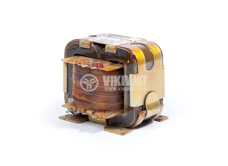 Автотрансформатор, екраниран, 220VAC / 2x18.7 + 35.8 + 34.5 + 2.2VAC, 60VA UNITRA B-4247-174-4 - 1