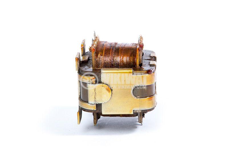 Автотрансформатор, екраниран, 220VAC / 2x18.7 + 35.8 + 34.5 + 2.2VAC, 60VA UNITRA B-4247-174-4 - 5