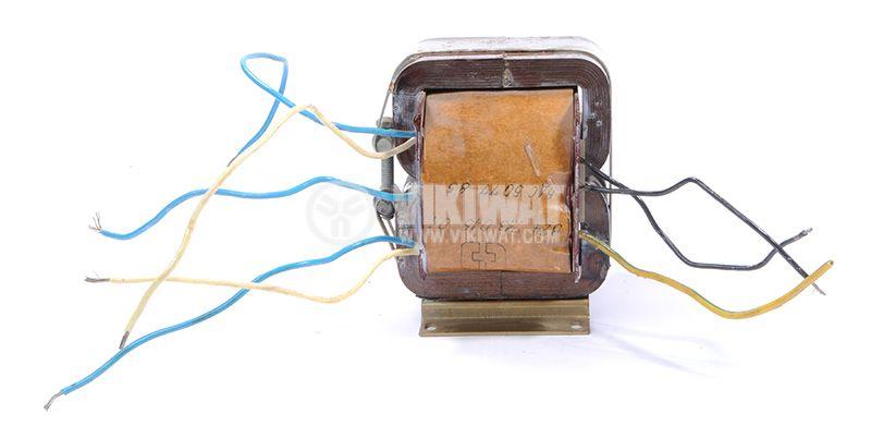 Трансформатор, екраниран, 220VAC / 2x1.5 + 2x14.5VAC, 250VA, B24.713.015-01 - 1
