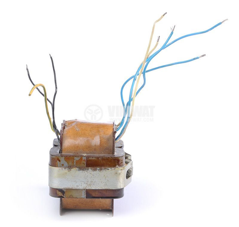 Трансформатор, екраниран, 220VAC / 2x1.5 + 2x14.5VAC, 250VA, B24.713.015-01 - 5