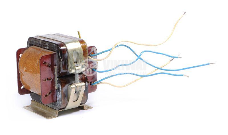 Трансформатор, екраниран, 220VAC / 2x1.5 + 2x14.5VAC, 250VA, B24.713.015-01 - 6