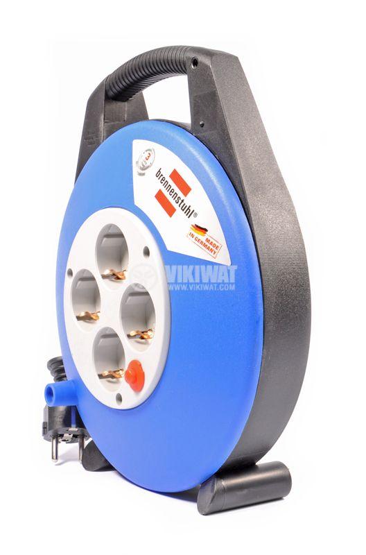 Reel extender, 4, 10m, 3x1.5mm2 - 5
