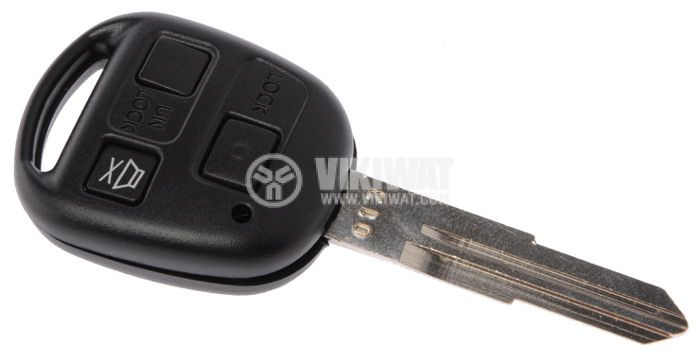 Shell case for remote control TxBT, for car alarms General 211 Lux