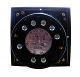 Реле за време, аналогово, NSY, 110VАC, 50/60 Hz, 2NO+2 NC, 220VAC, 10A, 0-7m10s - 2