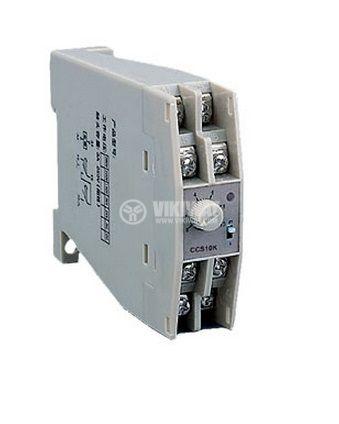 Analogue Time Relay JSZ8-G-05, 24 VDC, 2NC +2 NO, 250 VAC, 3 A, 0 - 60 s / 0 - 60 min - 2