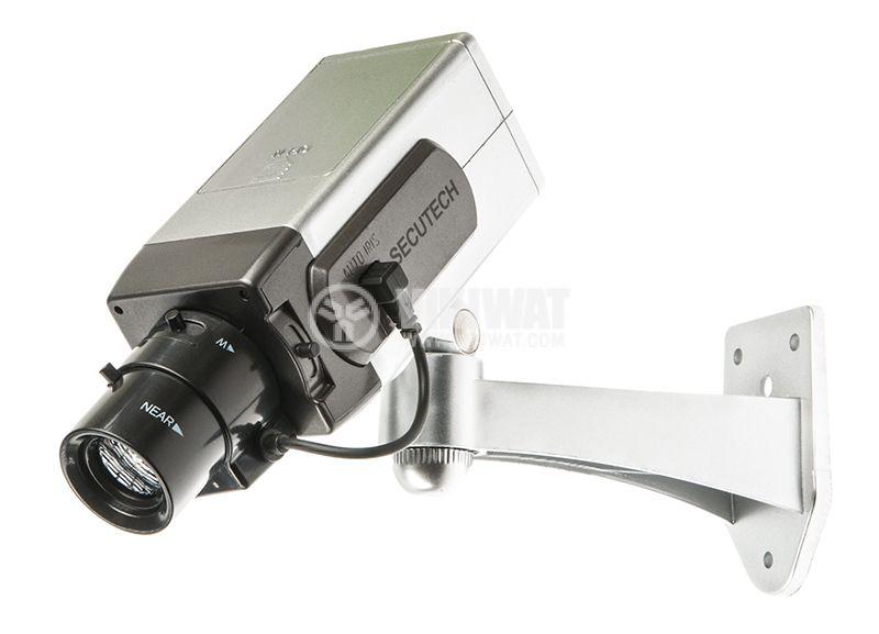 Бутафорна камера за наблюдение с индикатор - 2