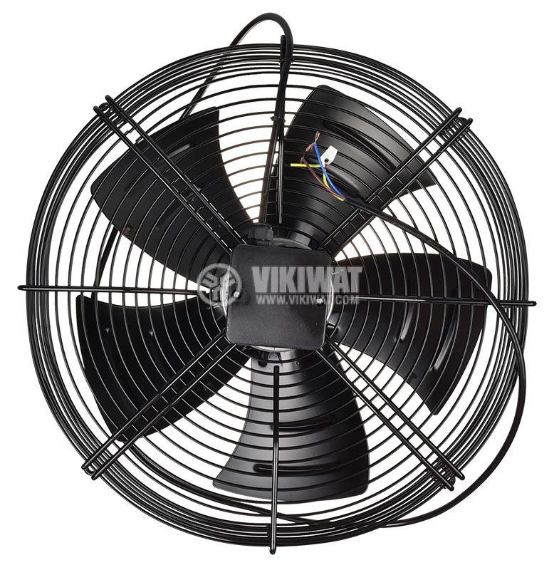 Fan, industrial, axial Ф500mm, 8850m3 / h, 420W, FDA-4E-500S, 220VAC - 3