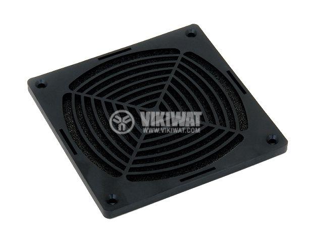 Filter fan grill 120x120 plastic