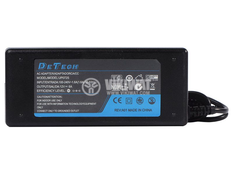 AC-DC adapter UP075S, 6A - 2
