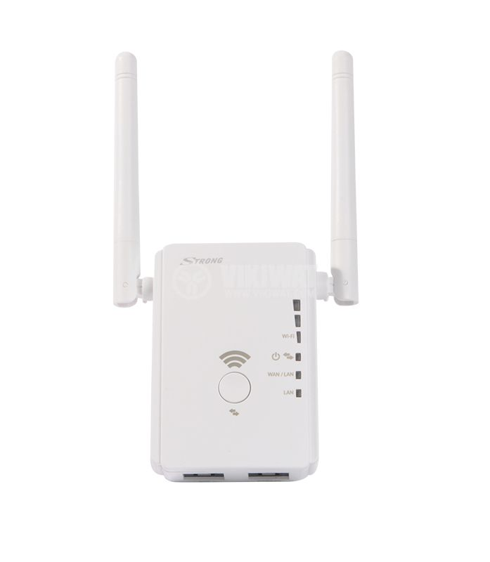 Extender range, router, hot spot, Universal repeater 300Mbps Wi-Fi, Strong - 1