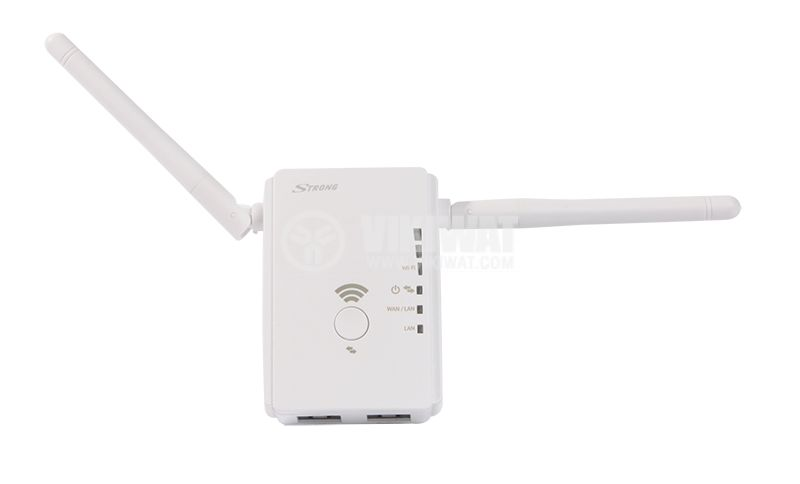 Extender range, router, hot spot, Universal repeater 300Mbps Wi-Fi, Strong - 6