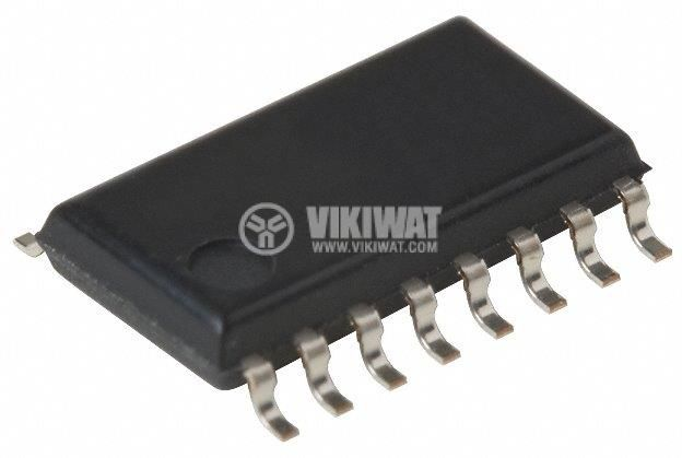 Integrated Circuit TA7688, Stereo headphone amplifier (3V use), SOIC16