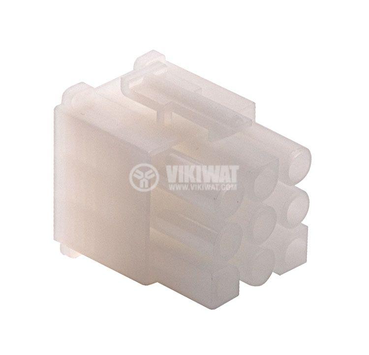 Конектор за обемен монтаж мъжки, VF67001-9R, 9 пина - 1