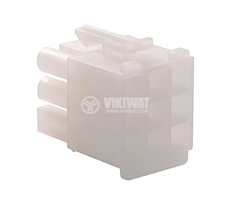 Конектор за обемен монтаж мъжки, VF67001-9R, 9 пина - 3