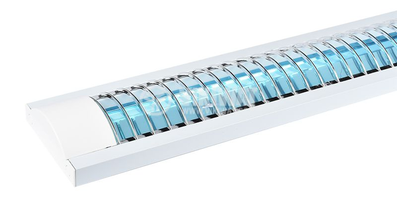 LED осветително тяло 2x18W, T8, 220VAC, IP21, 1200mm - 2