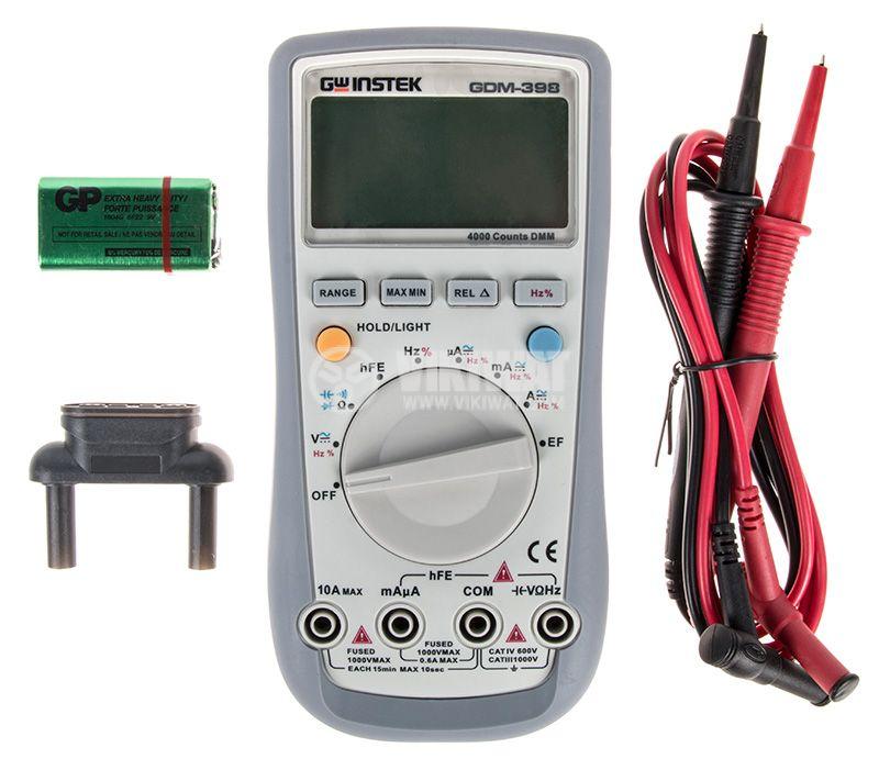 Дигителен мултиметър GDM-398 - 4