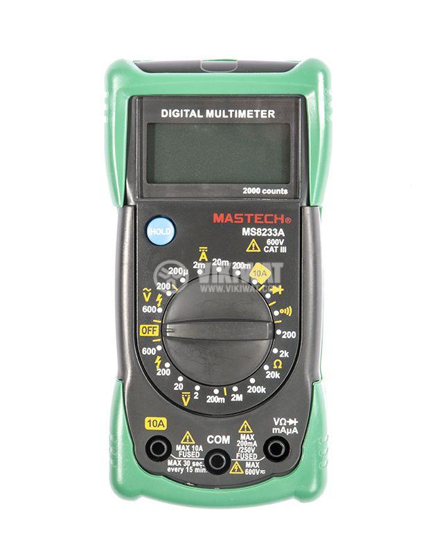 Мултиметър MS8233А - 3