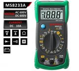 Multimeter MS8233А, digital, Vdc, Vac, Adc, Ohm