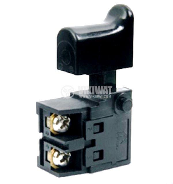 Електрически прекъсвач (ключ) за ръчни електроинструменти FA2-6/1B-11 6 A/250VAC 1NO  - 1