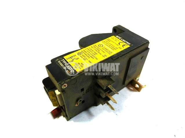 Thermal relay, MTE AXT0, three-phase, 0.72-1.1 A, 2PST - NO+NC, 6 A, 380 VAC - 1