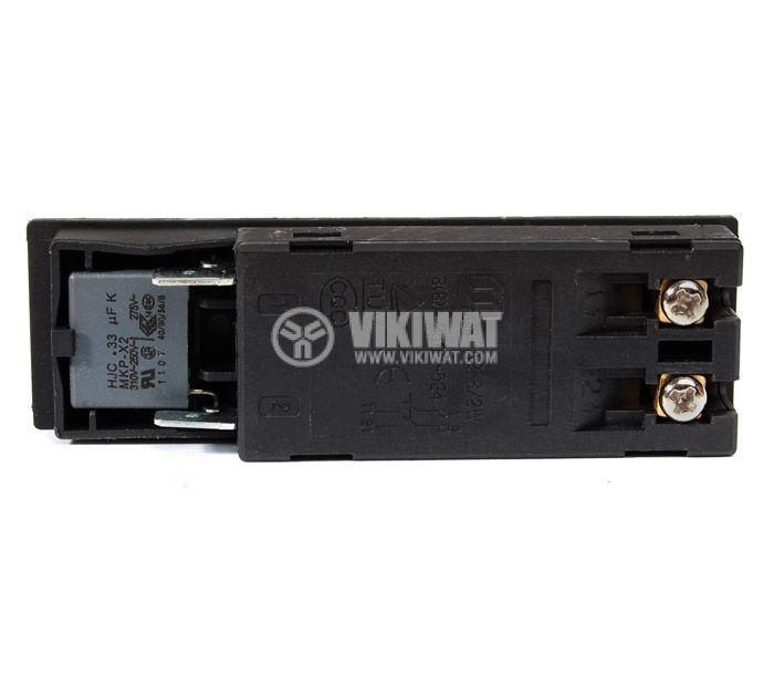 Електрически прекъсвач (ключ) за ръчни електроинструменти FA2-8/2W 8A/250VAC 2NO - 2