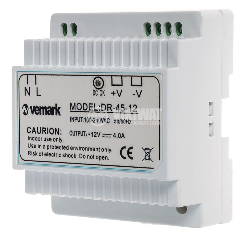 Switching power supply for DIN rail 12VDC - 2
