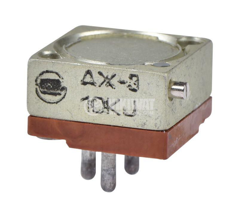 Тример потенциометър 10kOhm жичен - 1